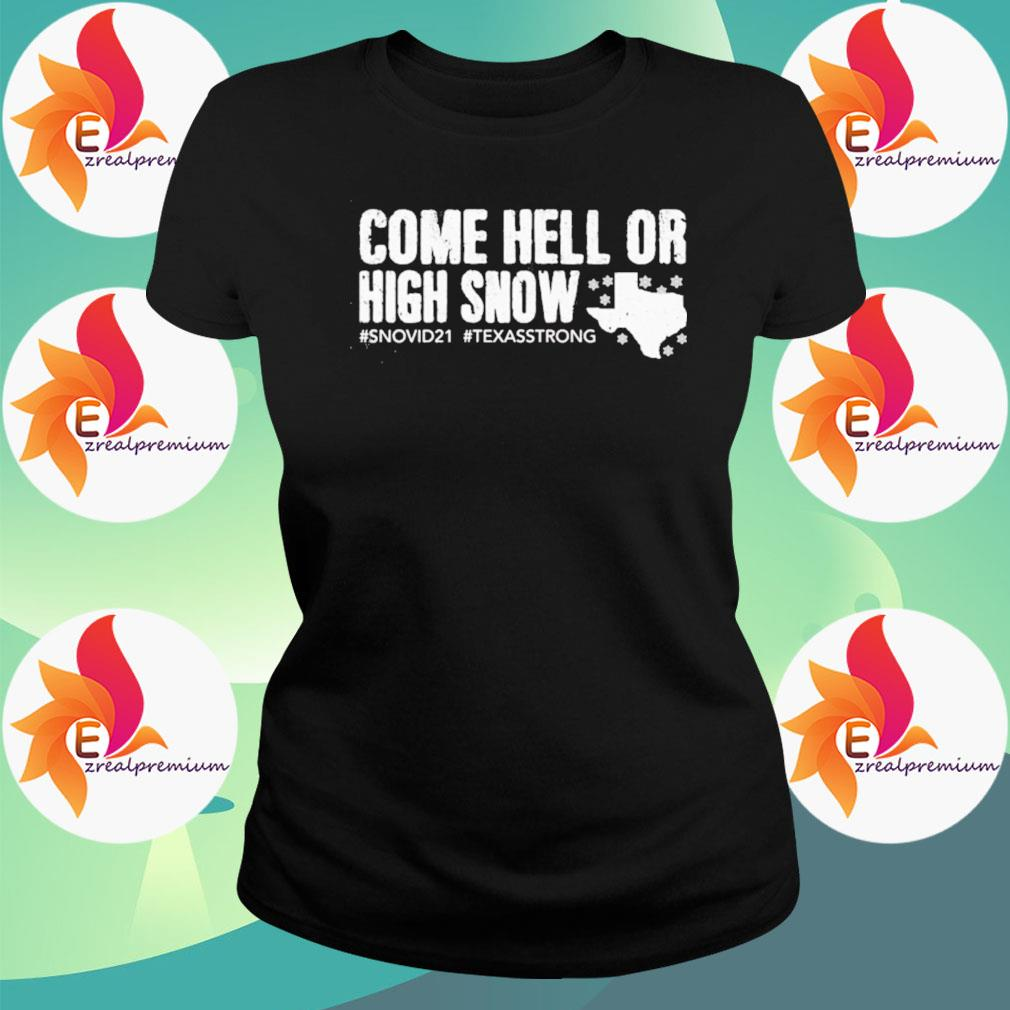 Snovid 21 Come hell or high snow s Ladytee