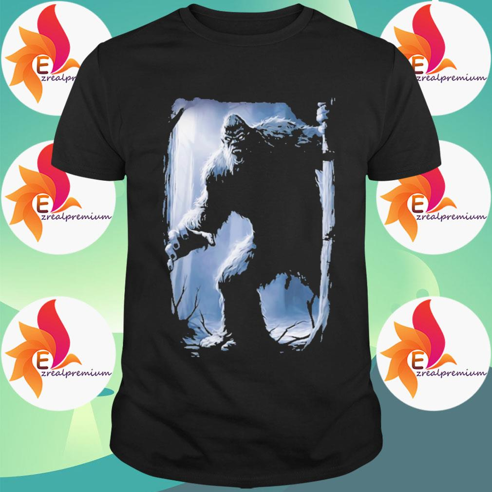 Bigfoot hide and seek shirt