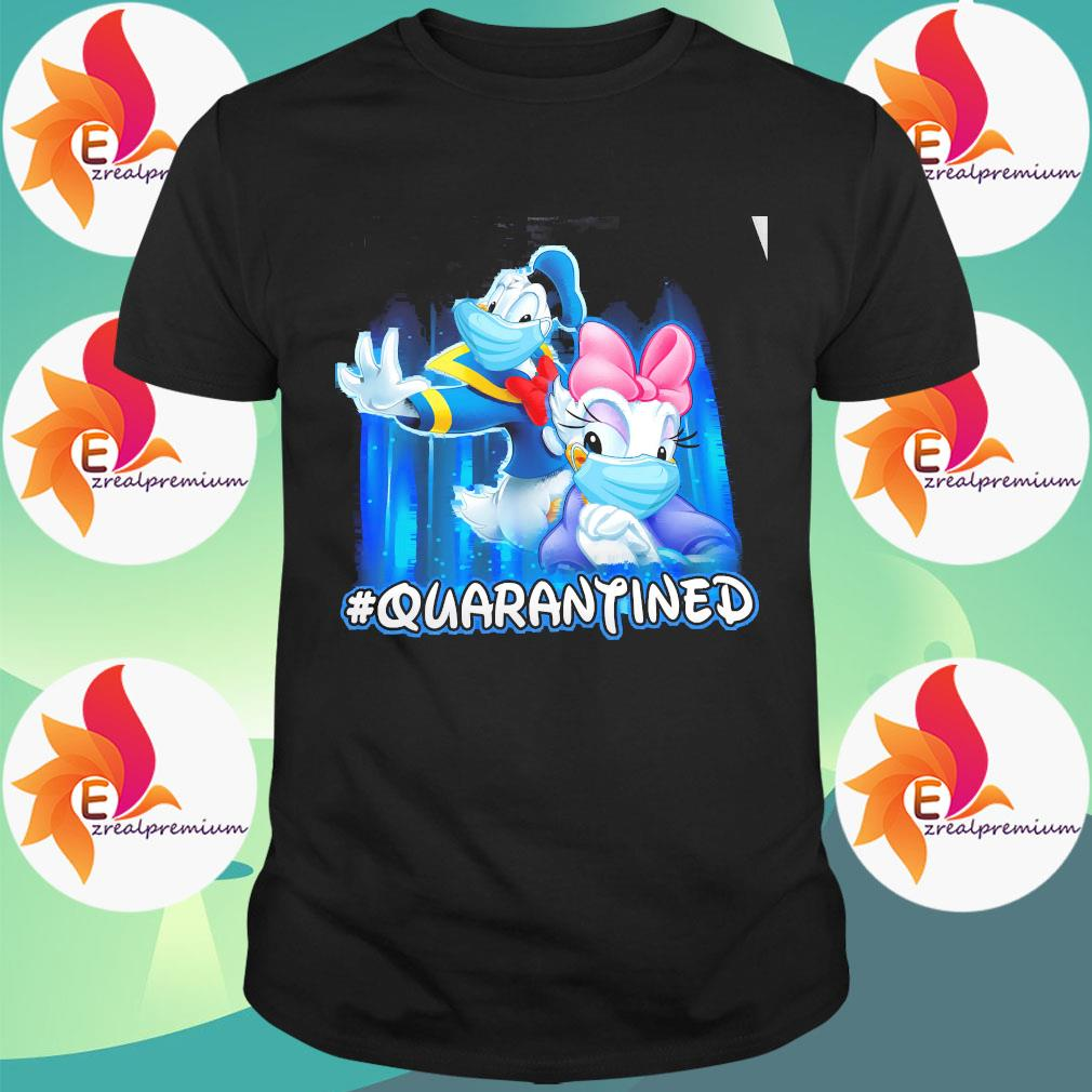 Donald And Daisy Face Mask Quarantined Shirt