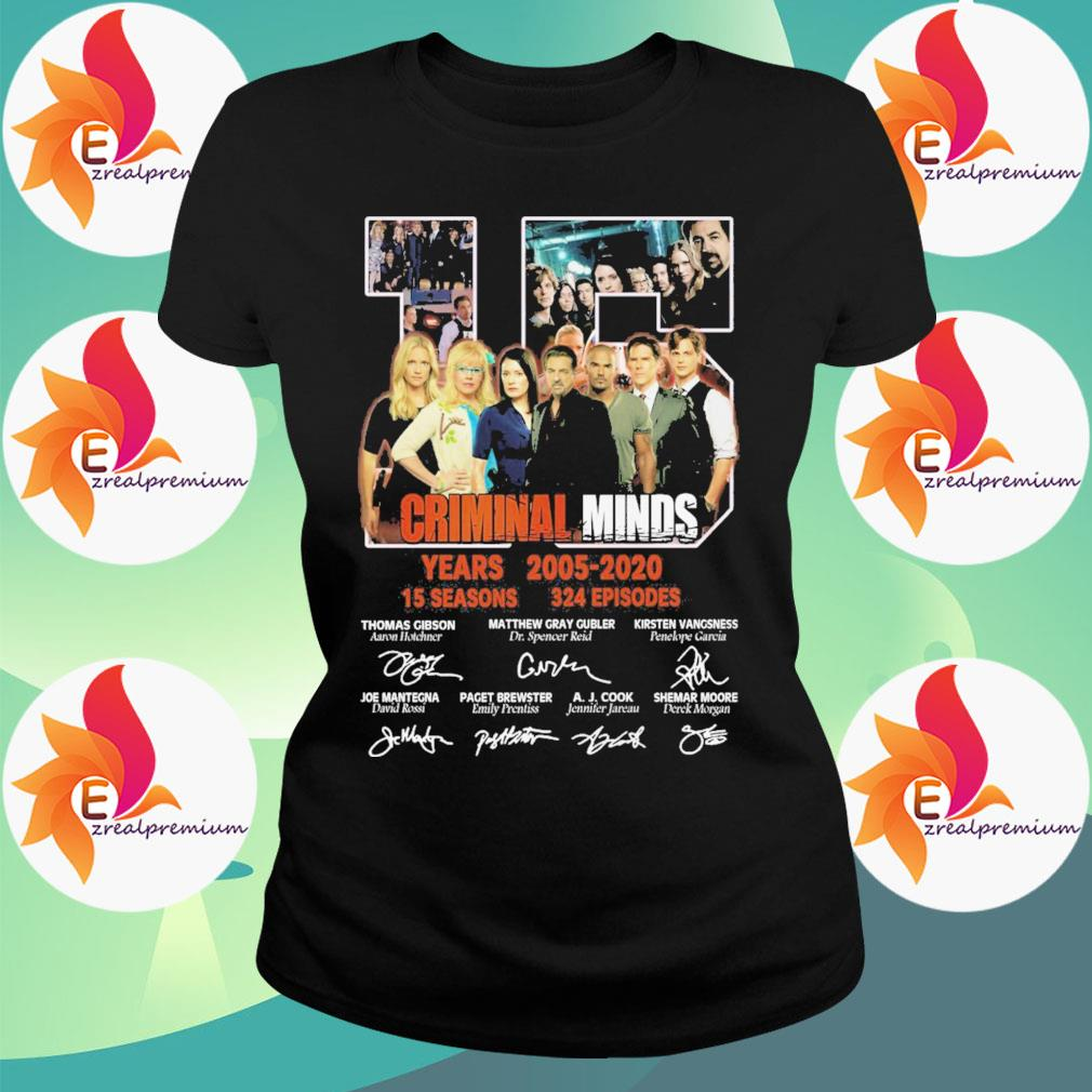 15 Criminal Minds years 2005 2020 15 seasons 324 episodes character signatures s Ladytee