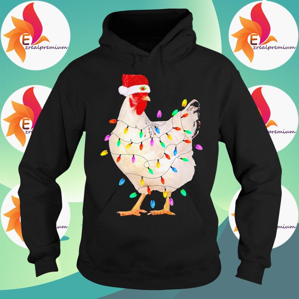 Merry Chickmas Funny Chicken s Hoodie