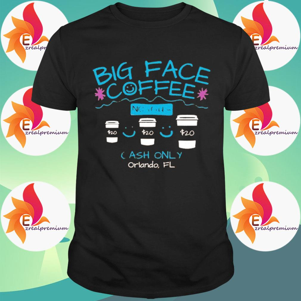 Ezrealpremium - Big Face Coffee shirt