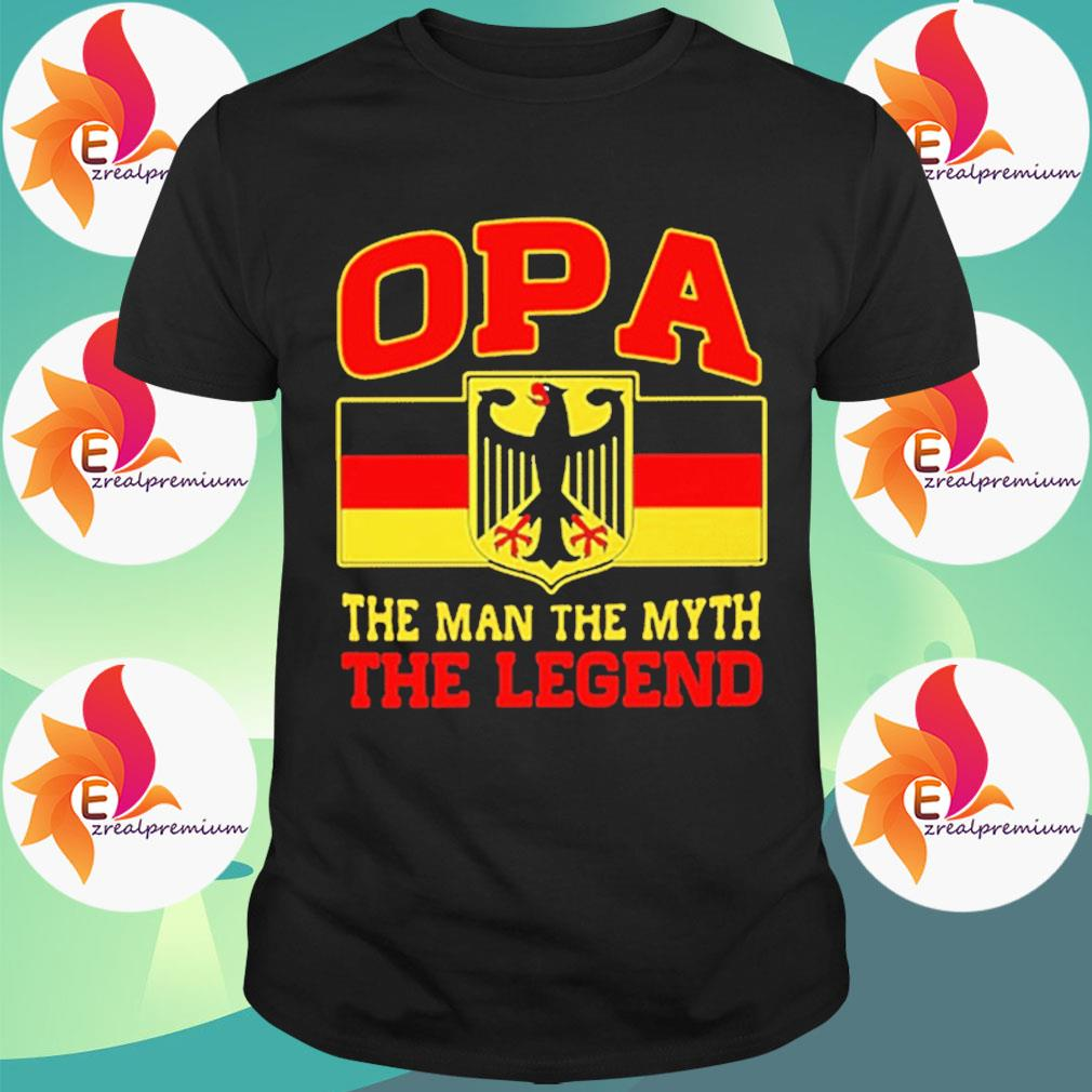 Germany OPA the man the myth the legend 2020 shirt