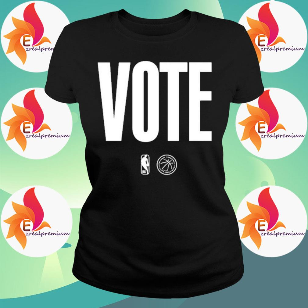 Logo NBA Vote s Ladytee