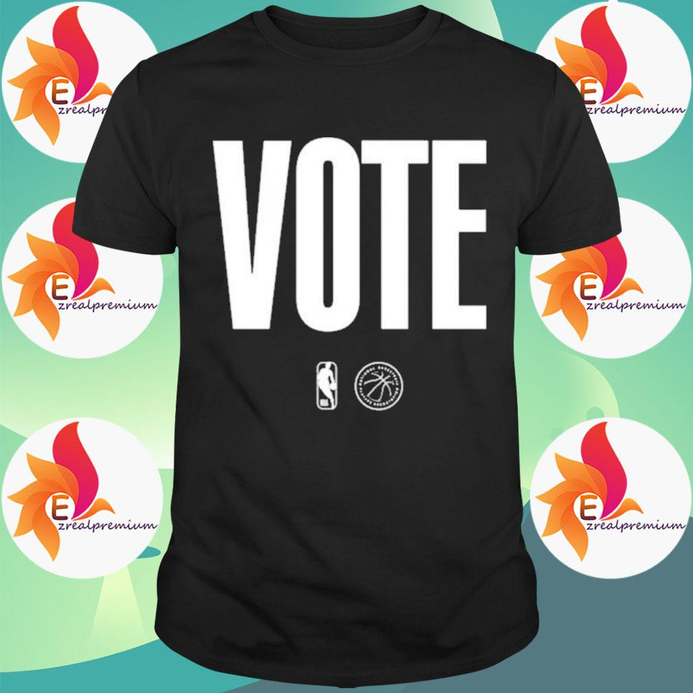 Logo NBA Vote shirt