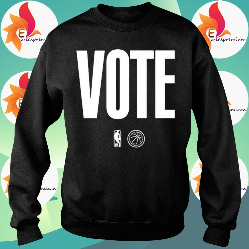 Logo NBA Vote s Sweatshirt