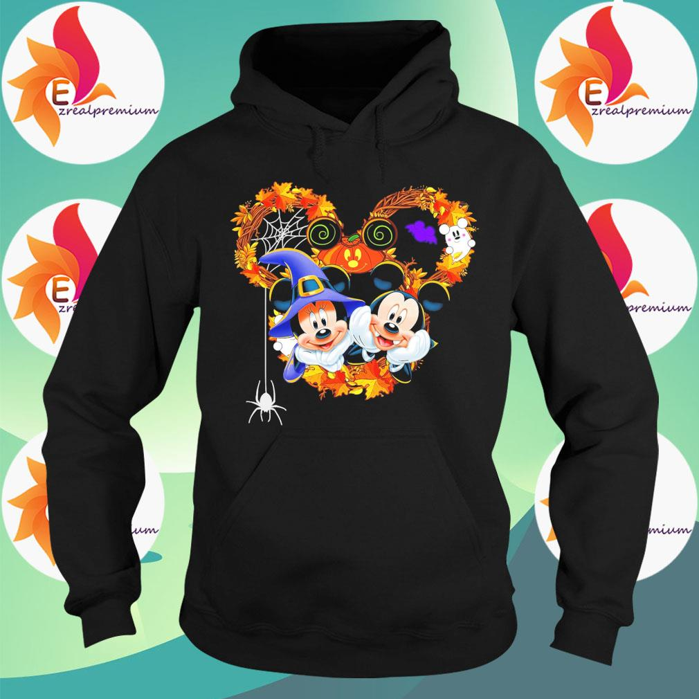 Mickey and Minnie mouse happy Halloween s Hoodie