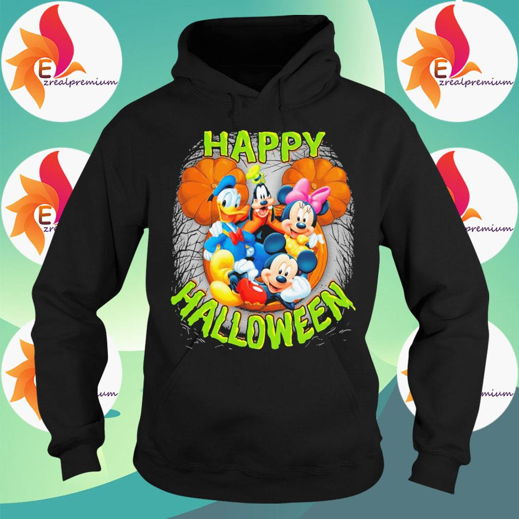Mickey mouse and Friends pumpkin happy Halloween s Hoodie