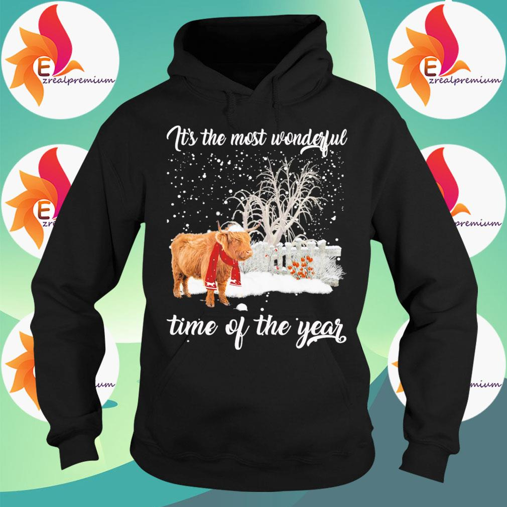 Yak Merry Christmas It's the most wonderful time of the year s Hoodie