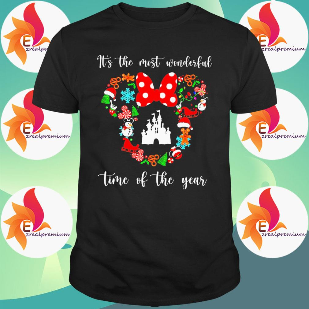Minnie mouse Disney It's the most wonderful time of the year shirt