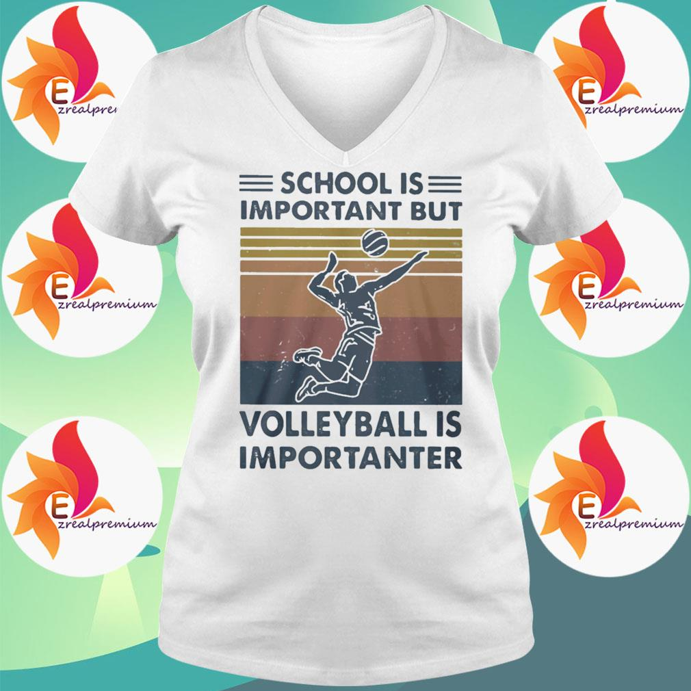 Official School Important Volleyball Importanter Vintage s Ladytee