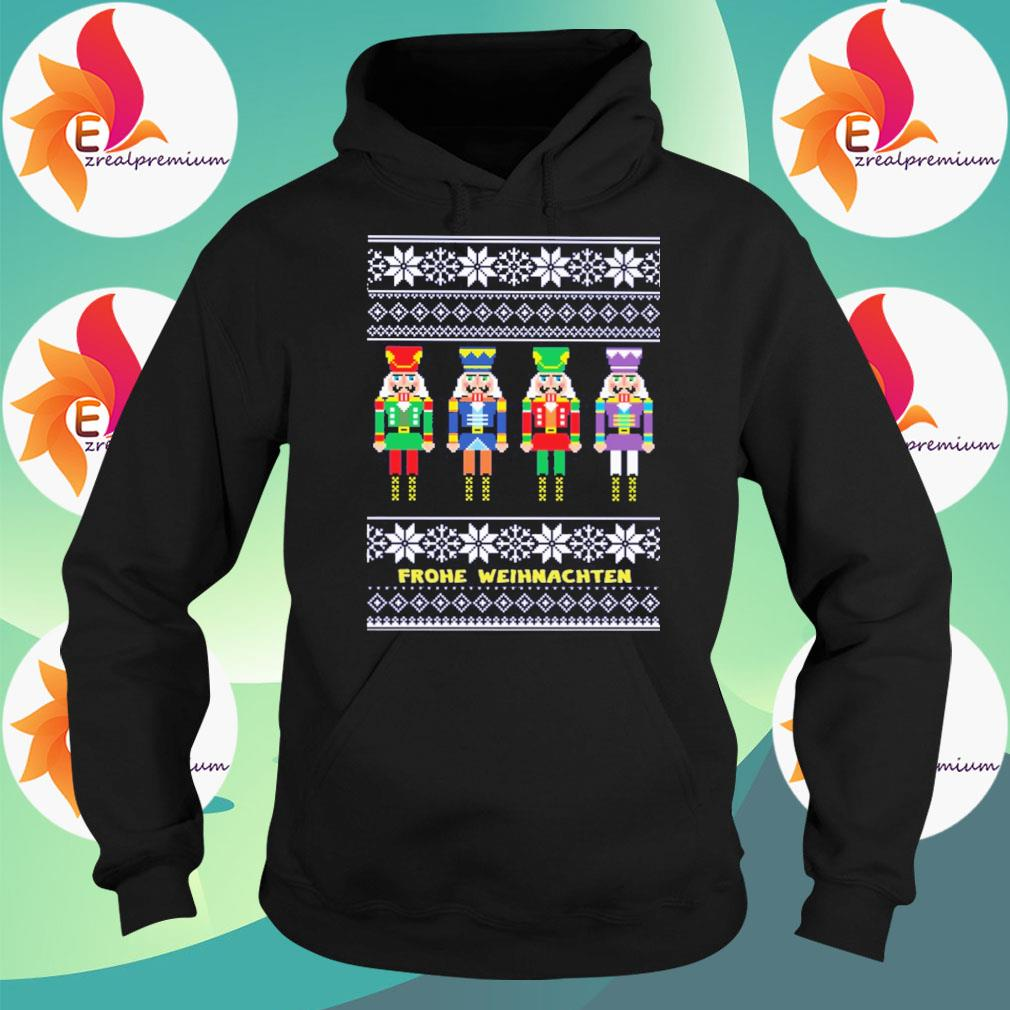Frohe Weihnachten ugly Christmas 2020 sweater Hoodie