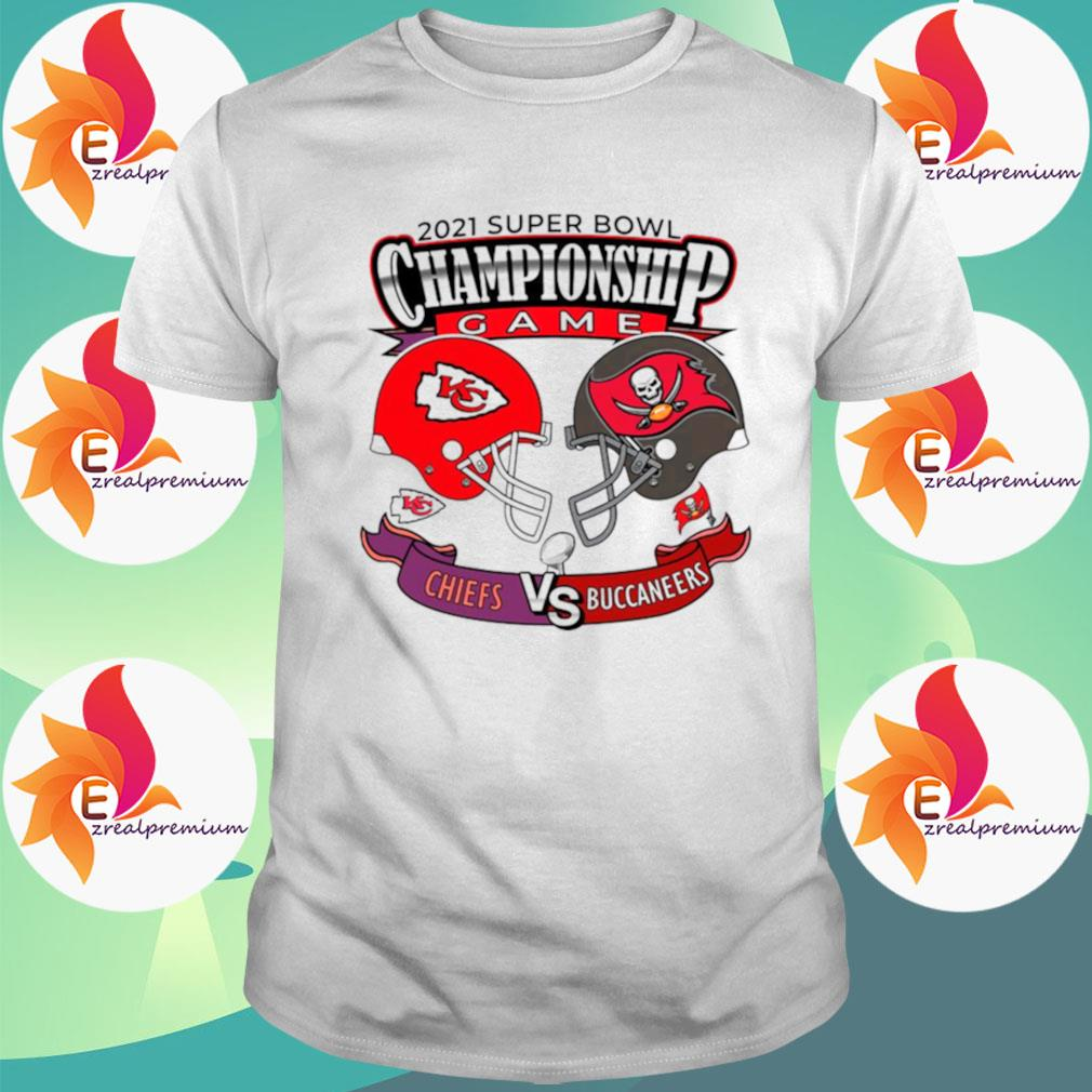 The Championship Game Of Chiefs Vs Buccaneers 2021 shirt